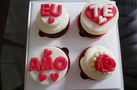 Cupcake para namorados(as)